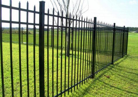 забор из профильной трубы в Самаре