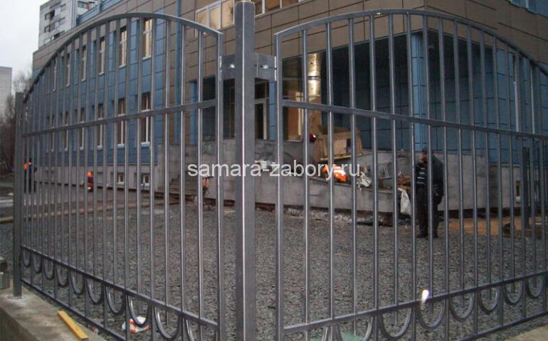 забор из профтрубы в Самаре